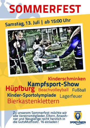Vereinsfest_Plakat